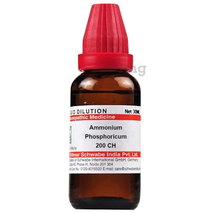 Dr Willmar Schwabe India Ammonium Phosphoricum Dilution 200 CH