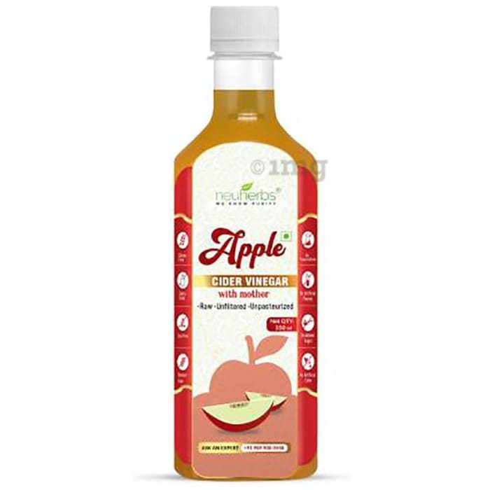 Neuherbs Apple Cider Vinegar with Mother- Raw, Unfiltered, Unpasteurized