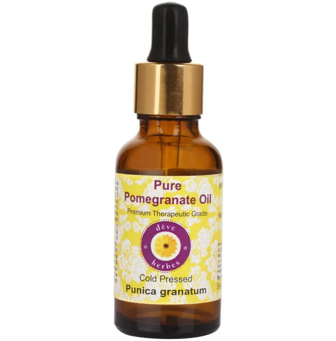 Deve Herbes Pure Pomegranate/Punica Granatum Cold Pressed Oil