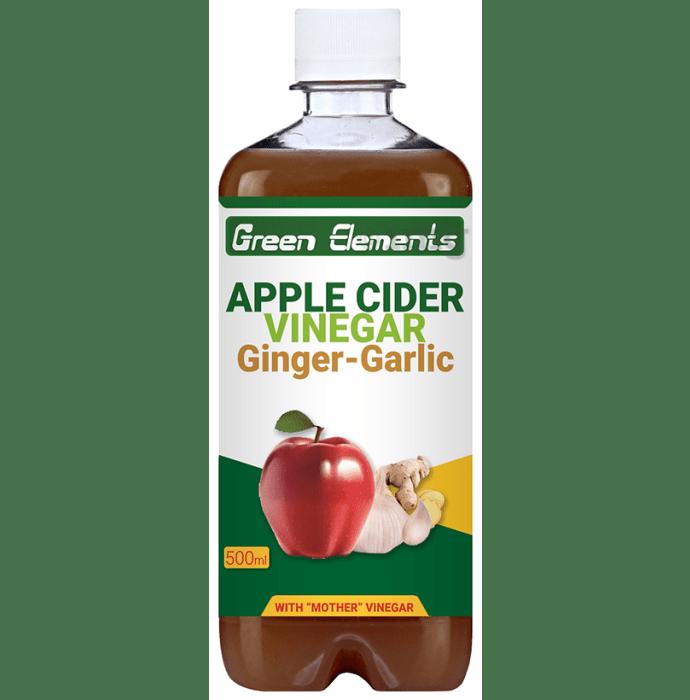 Green Elements Apple Cider Vinegar Ginger-Garlic with Mother Vinegar