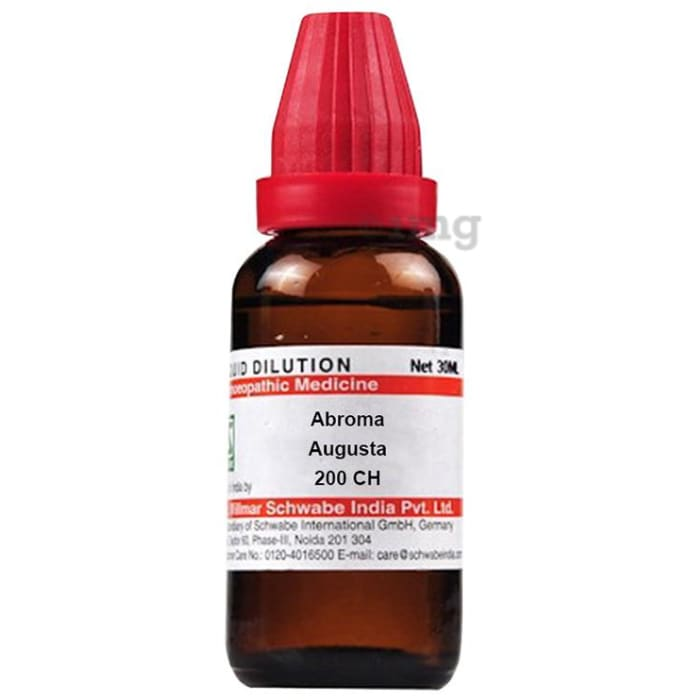 Dr Willmar Schwabe India Abroma Augusta Dilution 200 CH