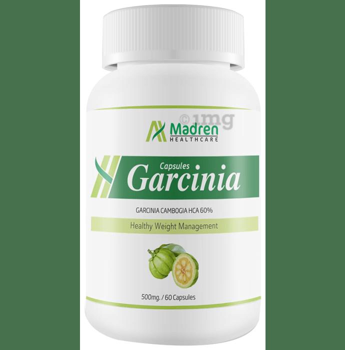 Madren Healthcare Garcinia 500mg  Capsule (Buy 1 Get 1 Free)
