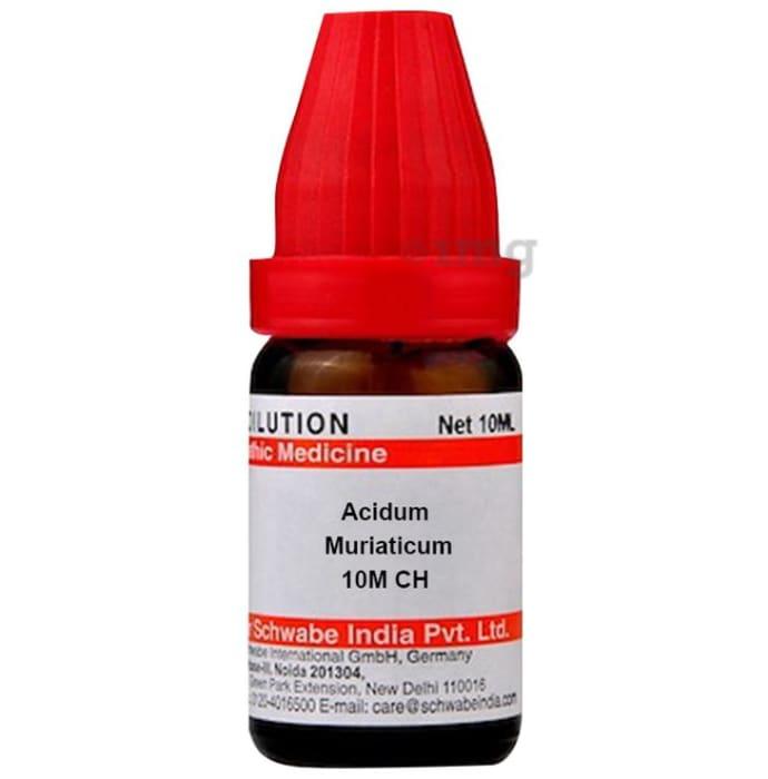 Dr Willmar Schwabe India Acidum Muriaticum Dilution 10M CH