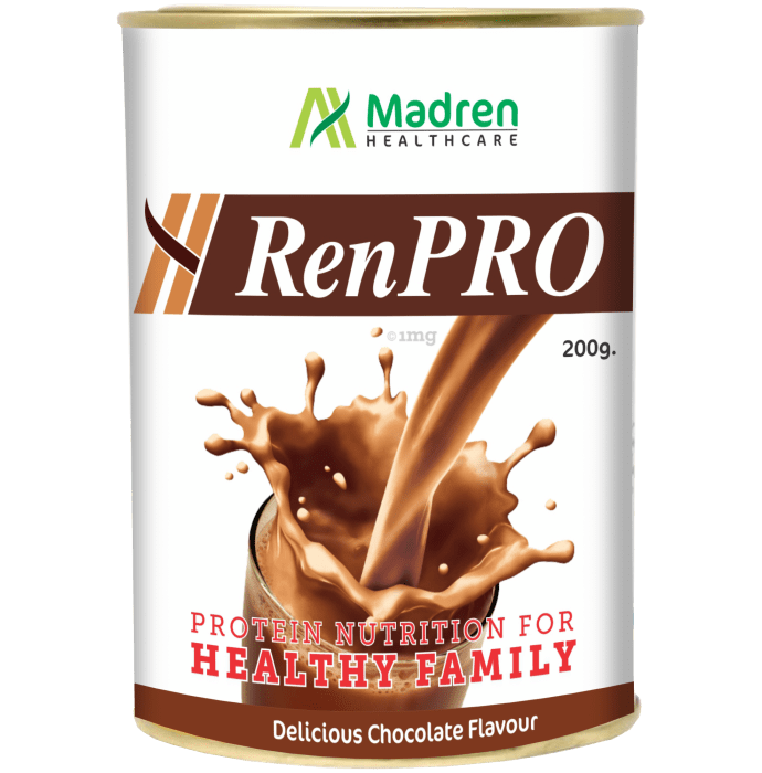 Madren Healthcare RenPro Milk Protein Powder Chocolate