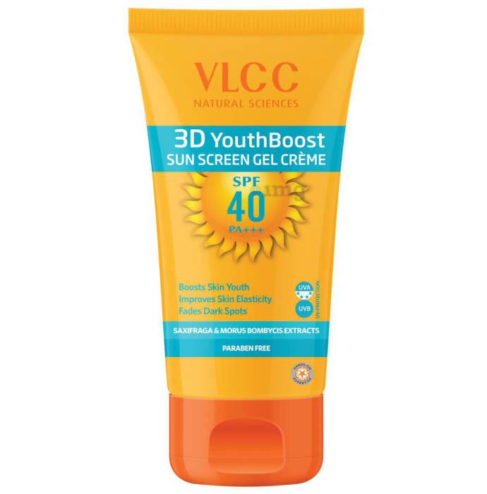 VLCC 3D Youth Boost SPF40 Sunscreen Gel Creme