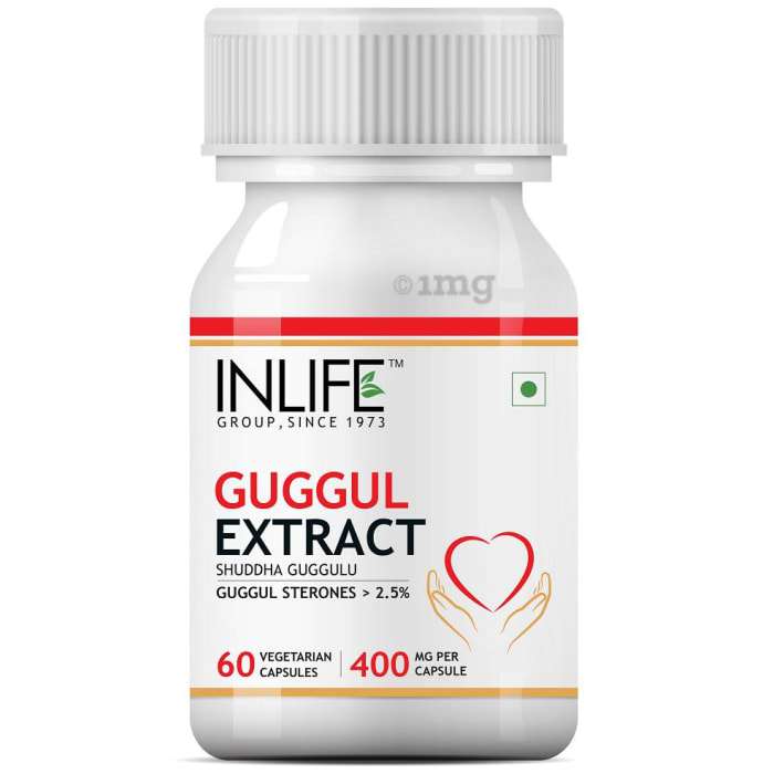Inlife Guggul Extract 400mg Capsule