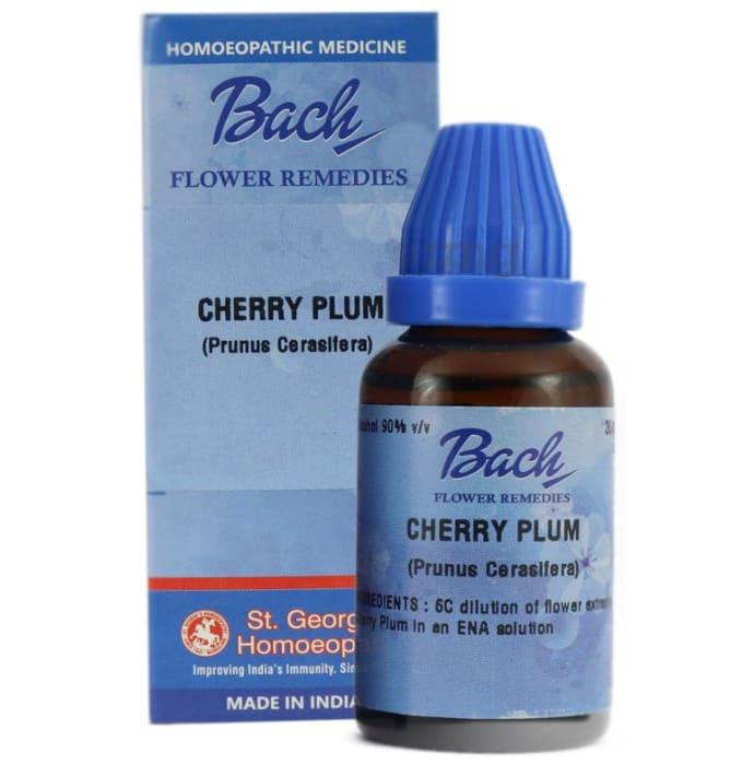 St. George's Bach Flower Cherry Plum 6 CH