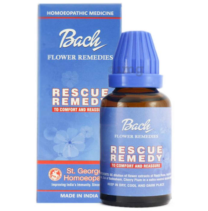 St. George's Bach Flower Rescue Remedy