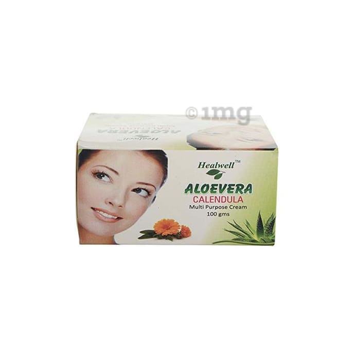 Healwell Aloevera Calendula Multi Purpose Cream