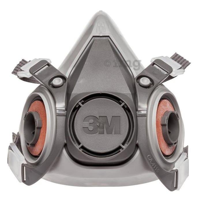 3M 6200 Half Facepiece Reusable Respirator Mask Medium