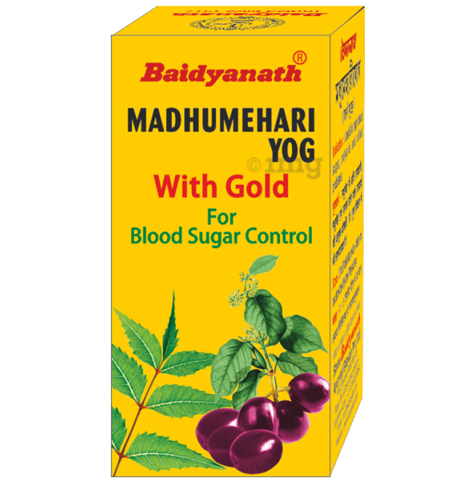 Baidyanath Madhumehari Yog with Gold Tablet