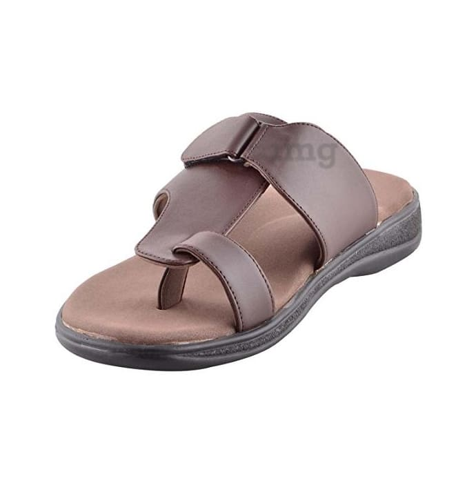 Dia One Orthopedic Sandal PU Sole MCP Insole Diabetic Footwear for Men and Women Dia_53 Size 6