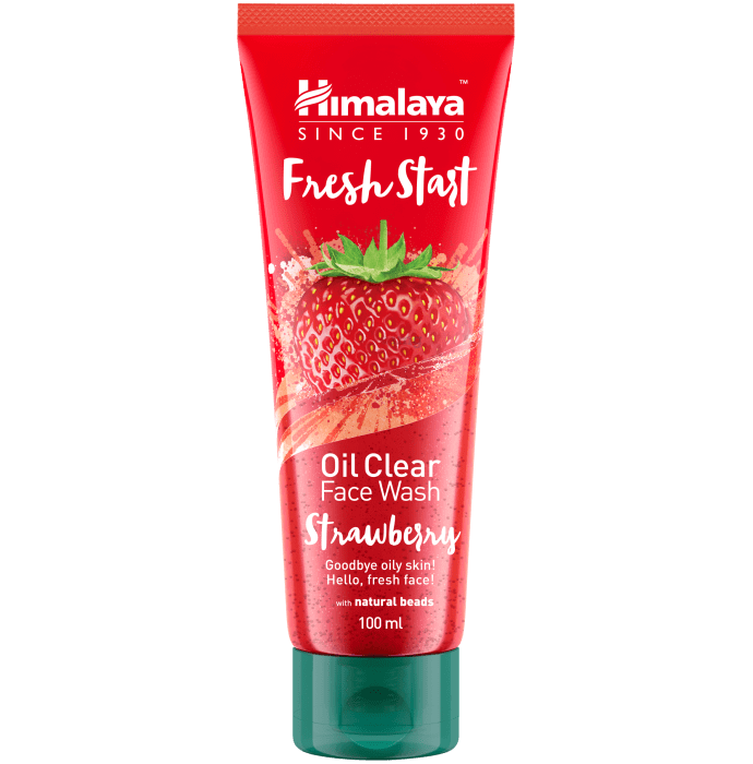 Himalaya Personal Care Fresh Start Oil Clear Strawberry Face Wash