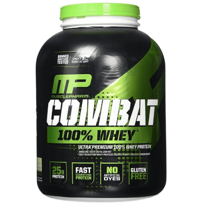 Muscle Pharm Combat 100% Whey Protein Powder Cookies & Cream