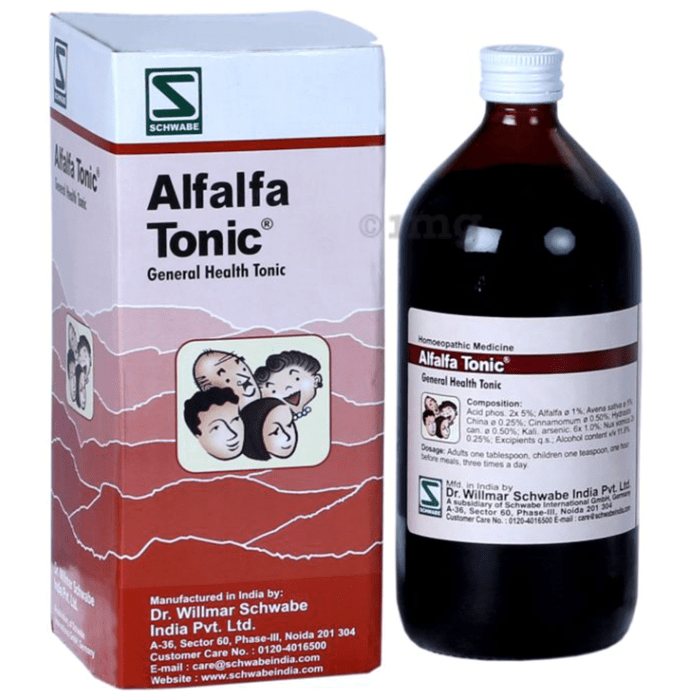 Dr Willmar Schwabe India Alfalfa General Health Tonic