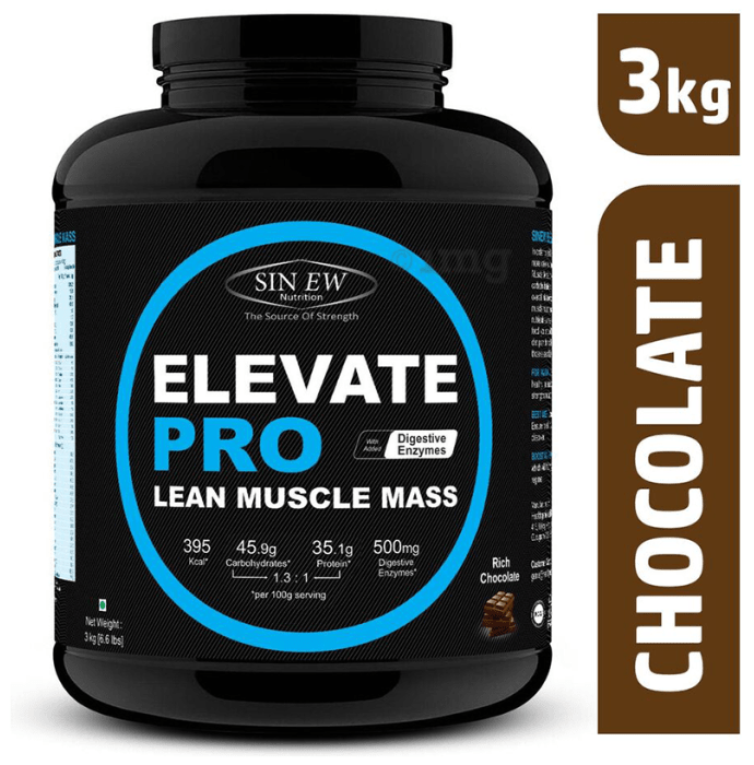 Sinew Nutrition Elevate Pro Lean Muscle Mass Rich Chocolate