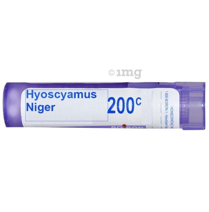 Boiron Hyoscyamus Niger Pellets 200C