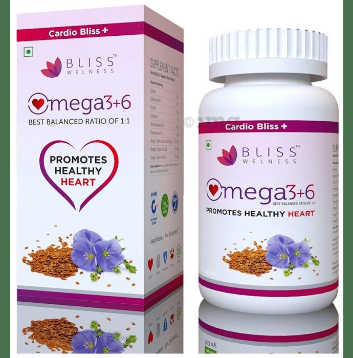 Bliss Welness Cardio Bliss + Omega 3 6 9 Vegetarian Capsule