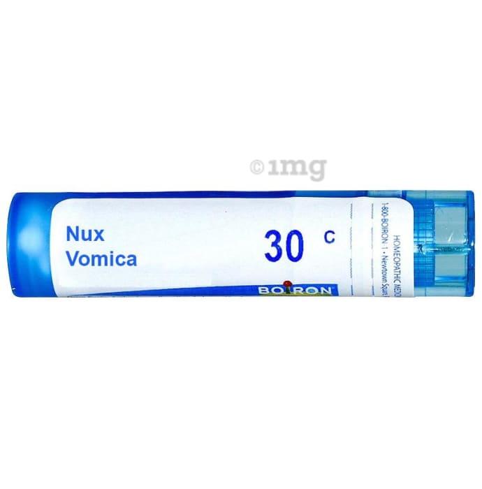 Boiron Nux Vomica Multi Dose Approx 80 Pellets 30 CH