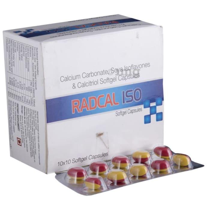 Radcal ISO Soft Gelatin Capsule