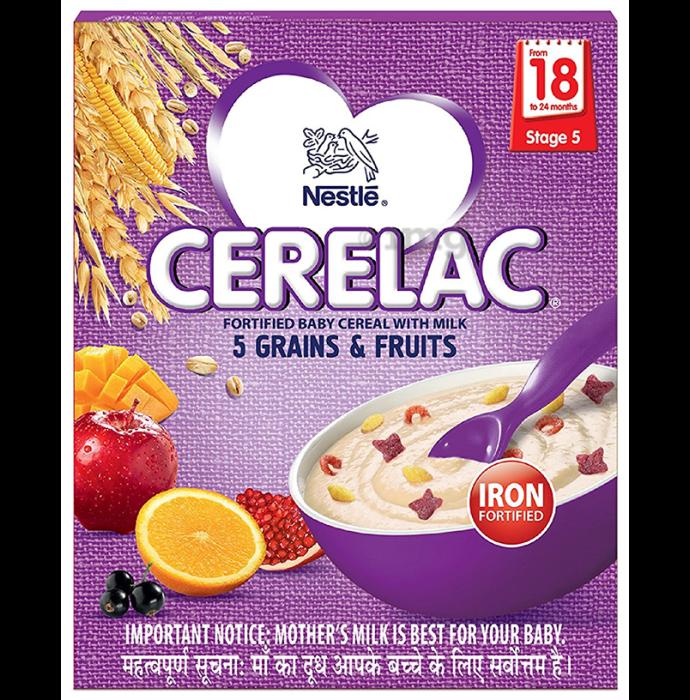 Nestle Cerelac 5 Grains & Fruits Stage 5