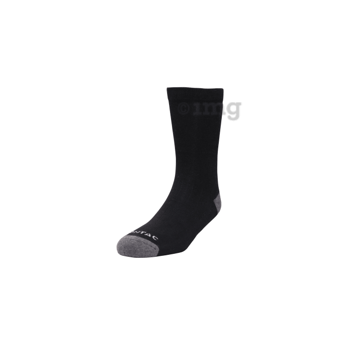 Montac Lifestyle Therapeutic Health Socks Black