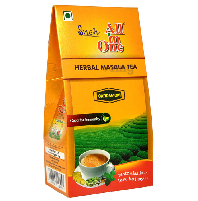 Sneh All in One Herbal Masala Tea Cardamom