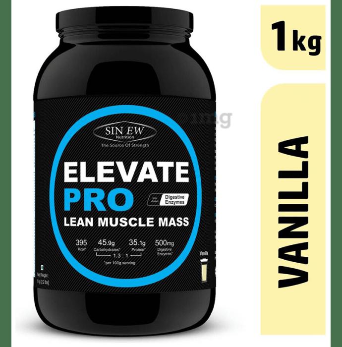 Sinew Nutrition Elevate Pro Lean Muscle Mass Vanilla