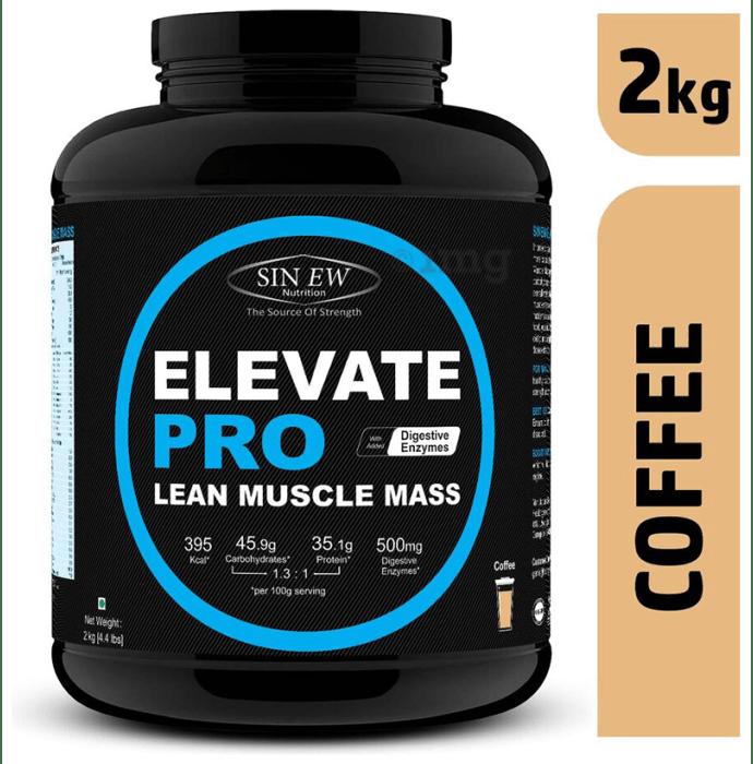 Sinew Nutrition Elevate Pro Lean Muscle Mass Coffee
