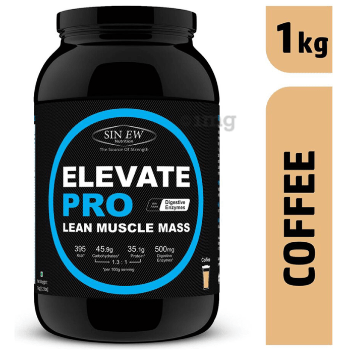 Sinew Nutrition Elevate Pro Lean Muscle Mass Coffee