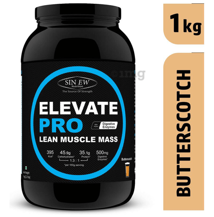 Sinew Nutrition Elevate Pro Lean Muscle Mass Butterscotch