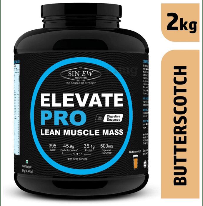 Sinew Nutrition Elevate Pro Lean Muscle Mass Butterscotch