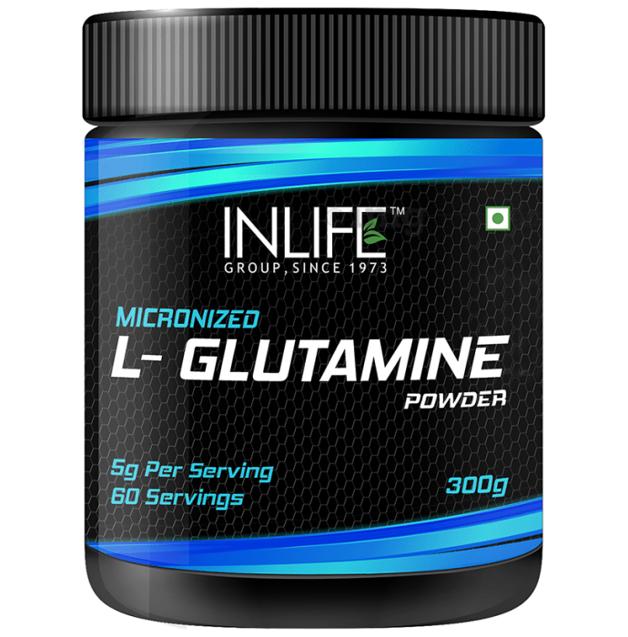Inlife Micronized L-Glutamine Powder