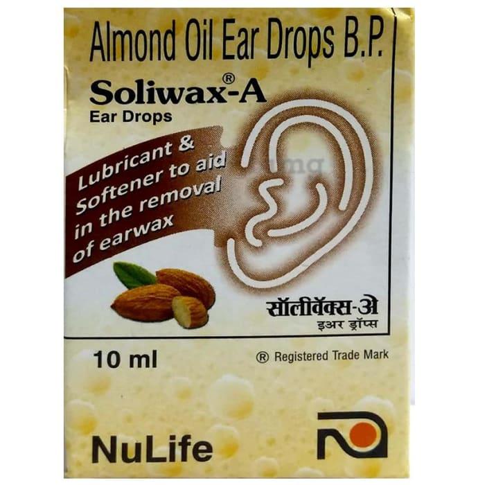 Soliwax -A Ear Drop
