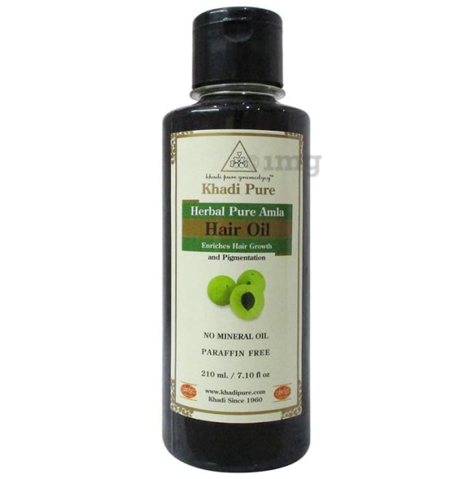 Khadi Pure Herbal Pure Amla Hair Oil