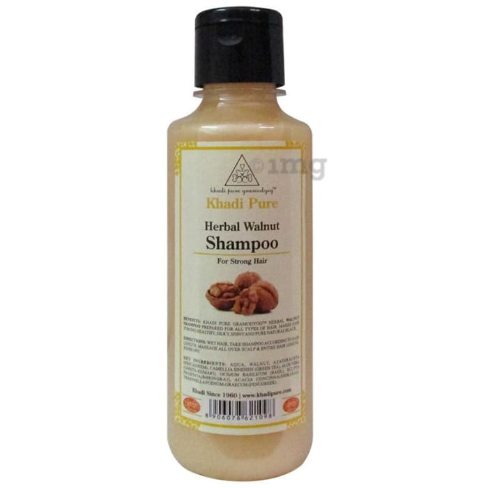 Khadi Pure Herbal Walnut Shampoo