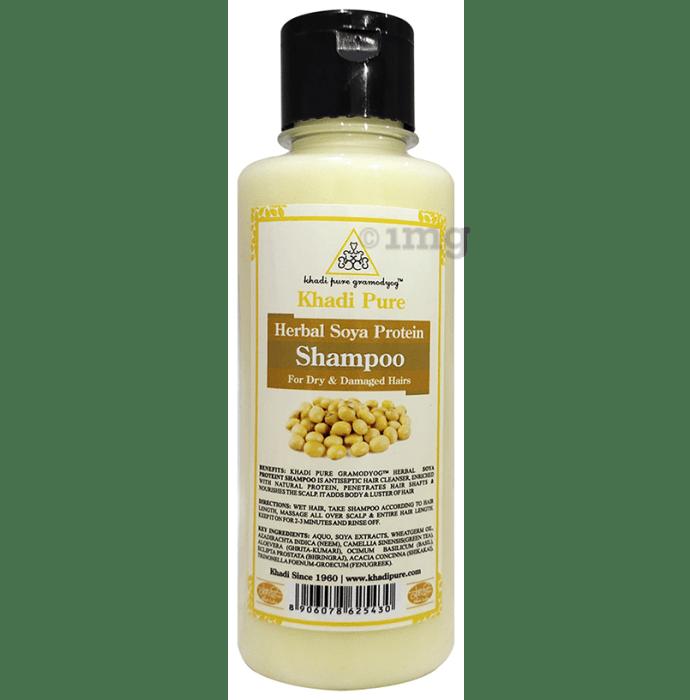 Khadi Pure Herbal Soya Protein Shampoo
