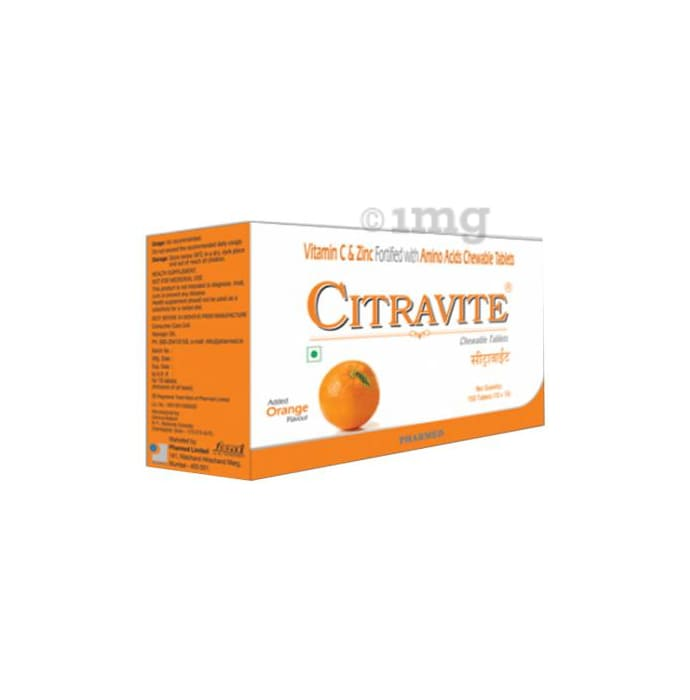 Citravite XT Chewable Tablet