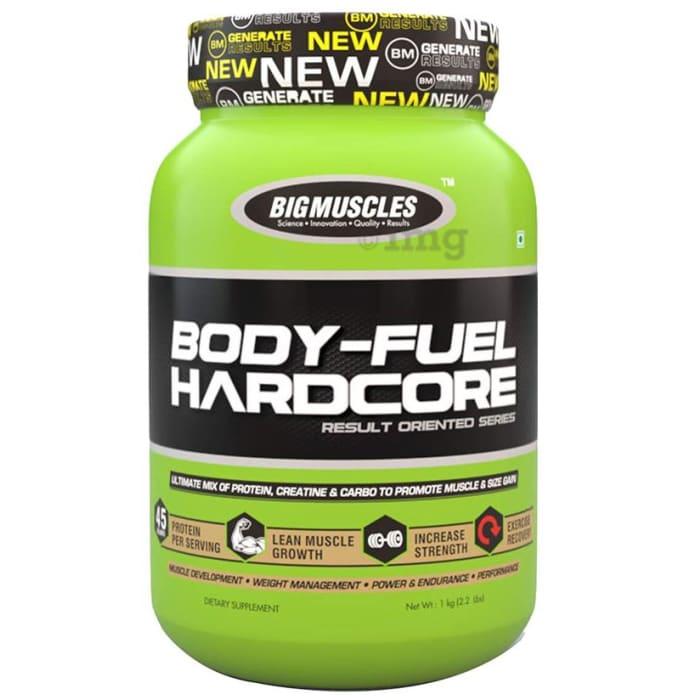 Big  Muscles Body-Fuel Hardcore Milk Chocolate Powder