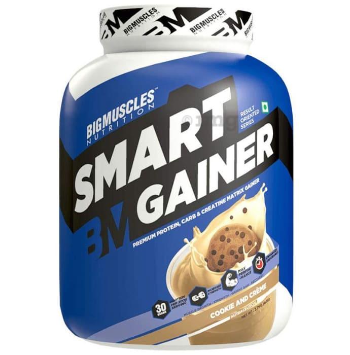 Big  Muscles Smart Gainer Cookies & Cream