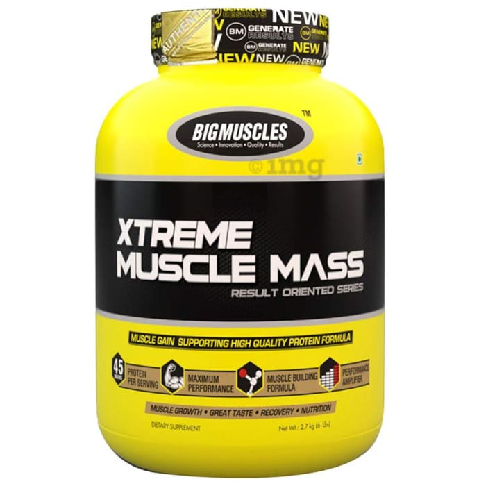 Big  Muscles Xtreme Muscle Mass Milk Chocolate