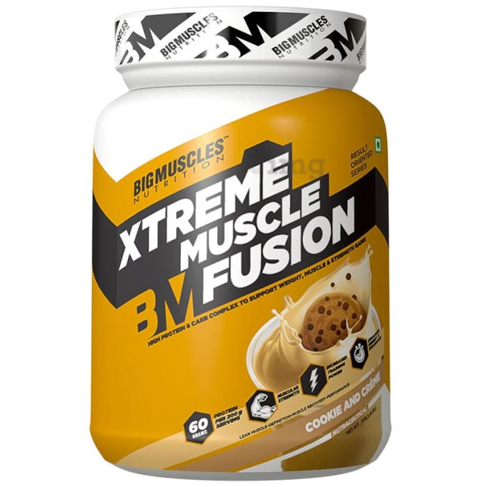 Big  Muscles Xtreme Muscle Fusion Cookies & Cream