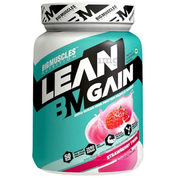 Big  Muscles Lean Gain Strawberry