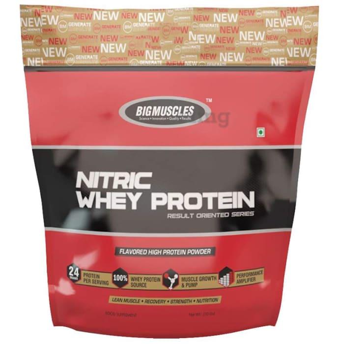 Big  Muscles Nitric Whey Milk Chocolate