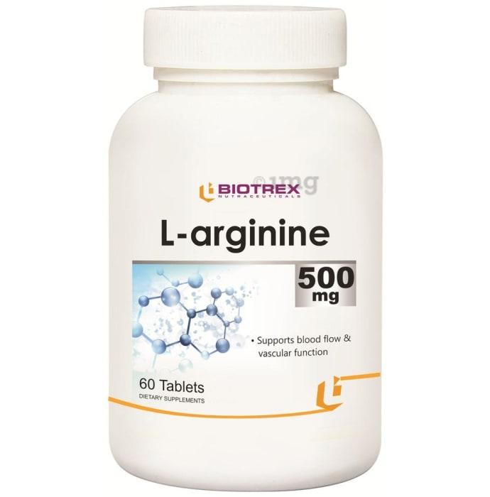 Biotrex L-arginine 500mg Tablet