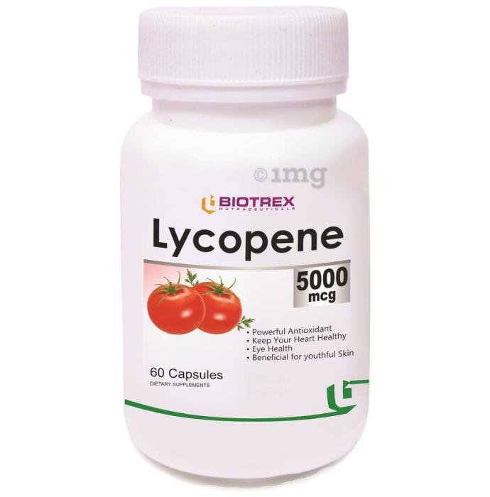Biotrex Lycopene 5000mcg Capsule