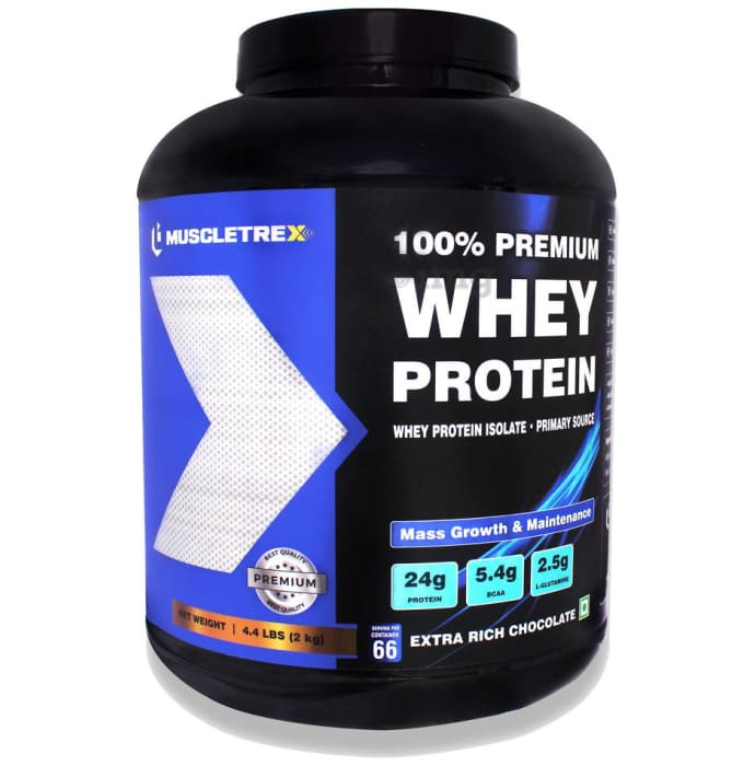 Muscletrex 100% Whey Protein Extra Rich Chocolate