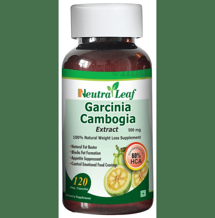 Neutra Leaf Garcinia Cambogia 500mg Capsule