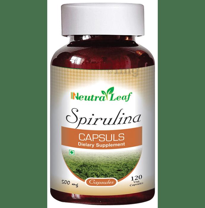Neutra Leaf Spirulina Capsule
