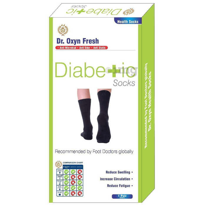 Dr.Oxyn Fresh Diabetic Socks